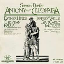 Samuel Barber (1910-1981): Antony and Cleopatra, 2 CDs