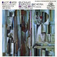 Elliott Carter (1908-2012): Klavierkonzert, CD