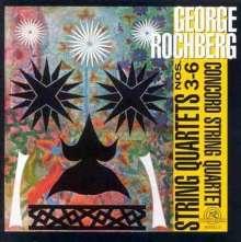 George Rochberg (1918-2005): Streichquartette Nr.3-6, 2 CDs