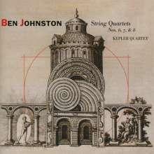 Ben Johnston (1926-2019): Streichquartette Nr.6-8, CD