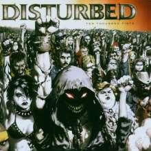 Disturbed: Ten Thousand Fists (CD + DVD), 1 CD und 1 DVD