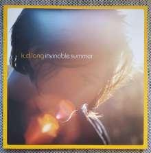 k. d. lang: Invicible Summer (20th Anniversary Edition) (Yellow-Orange Vinyl), LP