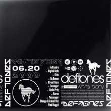Deftones: White Pony (20th Anniversary Deluxe Edition), 4 LPs