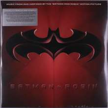 """Filmmusik: Batman & Robin: Music From And Inspired By The """"Batman & Robin"""" Motion Picture (Limited Edition) (Red & Blue Vinyl), 2 LPs"""