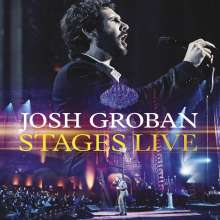 Josh Groban: Musical: Stages Live, CD
