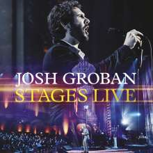 Josh Groban (geb. 1981): Musical: Stages Live, 1 CD und 1 DVD