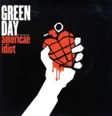 Green Day: American Idiot (Limited-Edition) (Red, White & Black Vinyl), 2 LPs