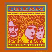 Cream: Royal Albert Hall: London, May 2005, 2 CDs