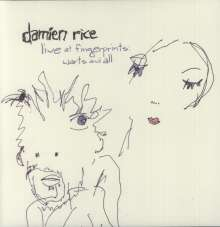 Damien Rice: Live At Fingerprints: Warts And All (Limited Edition), LP
