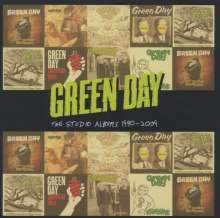 Green Day: Studio Albums 1990-2009 (Limited Edition Boxset), 8 CDs