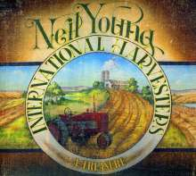 Neil Young: A Treasure (Deluxe Edition HDCD + Blu-ray), 1 CD und 1 Blu-ray Disc