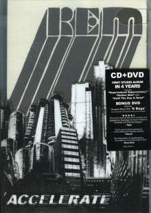 R.E.M.: Accelerate: Special Edition (CD+DVD), 2 CDs
