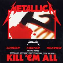 Metallica: Kill 'Em All (180g Deluxe Edition) (45 RPM), 2 LPs