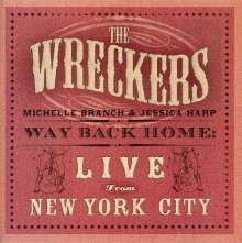 Wreckers: Way Back Home: Live From New York City (CD+DVD), CD