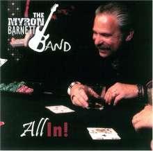 Myron Barnett: All In!, CD