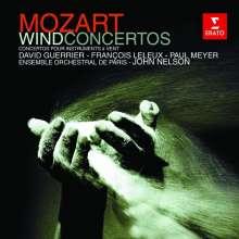 Wolfgang Amadeus Mozart (1756-1791): Bläserkonzerte, CD