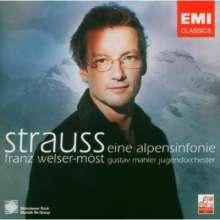 Richard Strauss (1864-1949): Alpensymphonie op.64, CD