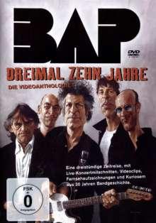 BAP: Dreimal zehn Jahre, DVD