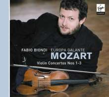Wolfgang Amadeus Mozart (1756-1791): Violinkonzerte Nr.1-3, CD