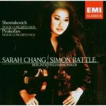 Sarah Chang spielt Violinkonzerte, CD