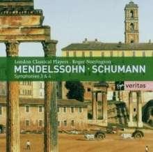 Felix Mendelssohn Bartholdy (1809-1847): Symphonien Nr.3 & 4, 2 CDs