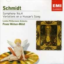 Schmidt / Lpo / Welser-: Symphony No 4 / Variations On, CD
