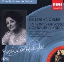 Victoria de los Angeles - On Wings of Songs & Zarzuela-Arien, CD