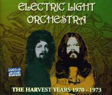 Electric Light Orchestra: The Harvest Years 1970 - 1973, 3 CDs