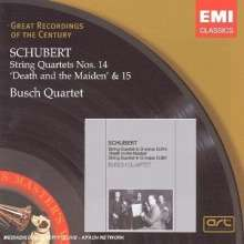 Franz Schubert (1797-1828): Streichquartette Nr.14 & 15, CD