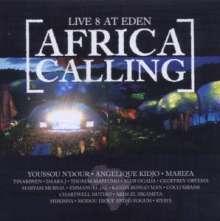 Live 8 At Eden: Africa Calling, CD