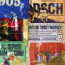 Dmitri Schostakowitsch (1906-1975): Symphonien Nr.1-15, 10 CDs
