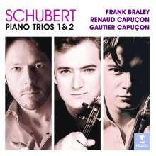 Franz Schubert (1797-1828): Klaviertrios Nr.1 & 2, 2 CDs