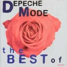 Depeche Mode: The Best Of Depeche Mode Vol. 1 (CD + DVD), 1 CD und 1 DVD