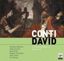 Francesco Bartolomeo Conti (1681-1732): David (Oratorium), 2 CDs