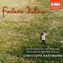 Antonino Pasculli (1842-1924): Fantasia Italiana - Operfantasien für Oboe & Orchester, CD