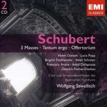 Franz Schubert (1797-1828): Messen D.452,678,950, 2 CDs