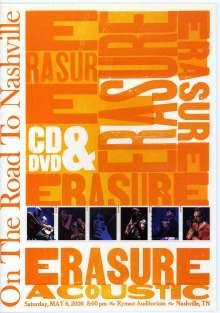 Erasure: On The Road To Nashville - 6.5.2006 Ryman Auditorium(CD+DVD), 1 DVD und 1 CD