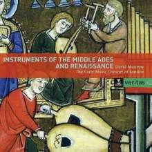 Instrumente des Mittelalters und der Renaissance, 2 CDs