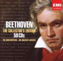 Ludwig van Beethoven (1770-1827): Beethoven - The Collection's Edition (EMI), 50 CDs