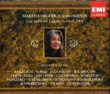 Martha Argerich & Friends - Live from Lugano Festival 2006, 3 CDs