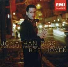 Ludwig van Beethoven (1770-1827): Klaviersonaten Nr.8,15,27,30, CD