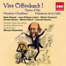 Jacques Offenbach (1819-1880): 3 Operetteneinakter (Gesamtaufnahmen), 2 CDs