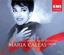 Maria Callas - The Complete Studio Recordings 1949-1969, 70 CDs