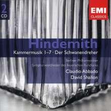 Paul Hindemith (1895-1963): Kammermusiken Nr.1-7, 2 CDs