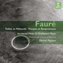 Gabriel Faure (1845-1924): Orchesterwerke Vol.1 & 2, 2 CDs