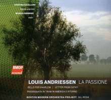 Louis Andriessen (geb. 1939): La Passione, CD