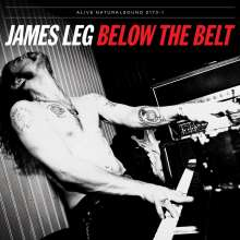 James Leg: Below The Belt, CD