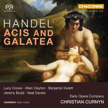 Georg Friedrich Händel (1685-1759): Acis and Galatea HWV 49a (1718), 2 SACDs