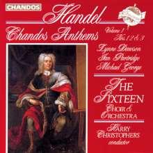 Georg Friedrich Händel (1685-1759): Chandos Anthems Vol.1, CD