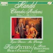 Georg Friedrich Händel (1685-1759): Chandos Anthems Vol.2, CD